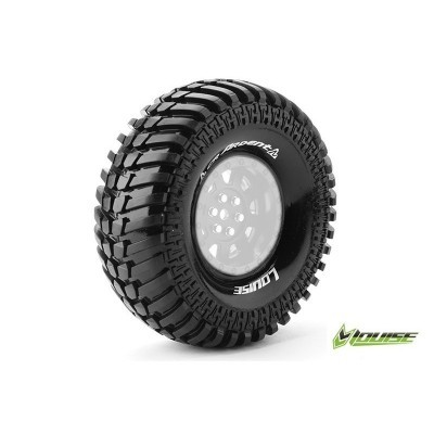 CR-ARDENT - 1-10 CRAWLER TIRES - SUPER SOFT - FOR 1.9 RIMS -