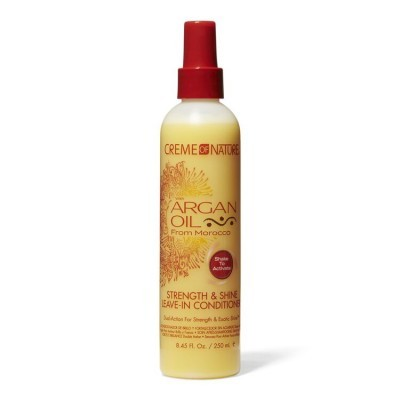 CREME OF NATURE - ARGAN OIL - STRENGHT & SHINE LEAVE-IN CONDITIONER 250ML