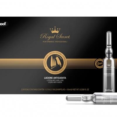 Ampolas Rickiparodi Royal Secret Anti Queda 10 X 10 ml