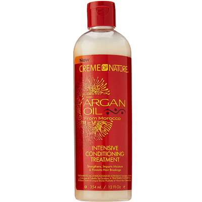 CREME OF NATURE - ARGAN OIL - INTENSIVE CONDITIONING TREATMENT 354ML