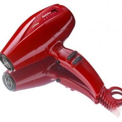 Babyliss Pro Secador Ferrari V1 Compacto Vermelho