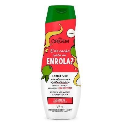 Origem Shampoo Esse Cacho Rola ou Enrola 325ml
