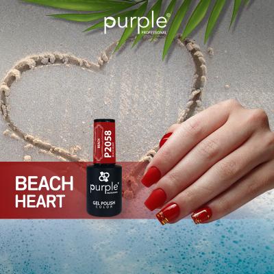 Verniz Gel Beach Heart 10 ml P2058