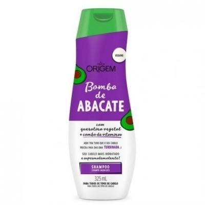 Nazca Origem Shampoo Bomba De Abacate 325ml