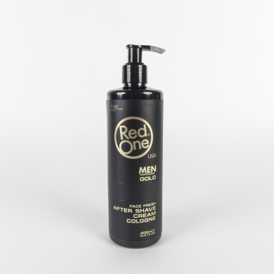 RED ONE - FACE FRESH AFTER SHAVE CREAM - GOLD 400ML