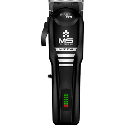 MS BARBER PRO BLACK - CORDLESS CLIPPER EXPERT STYLE