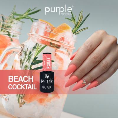 Verniz Gel Beach Cocktail 10 ml P2053