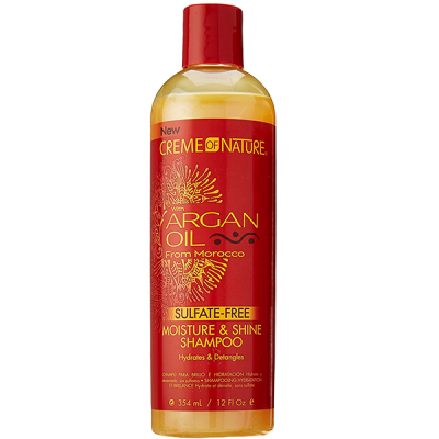 CREME OF NATURE - ARGAN OIL FROM MOROCCO - SULFATE FREE SHAMPOO 354ML