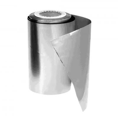 Alumínio Em Rolo para Madeixas Prata 13 cm - 125 m