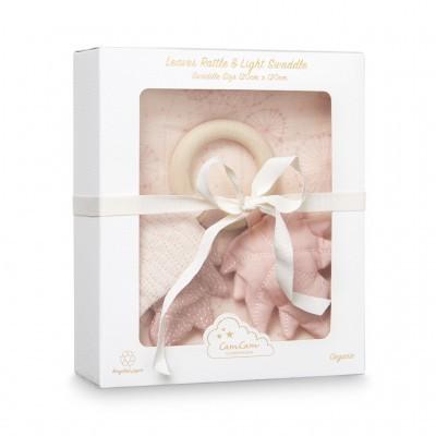 Caixa Presente Rosa - Swaddle + Roca