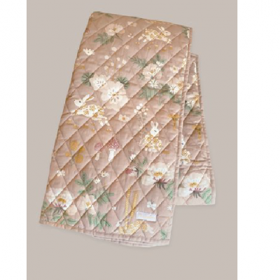 Cobertor Acolchoado - OLD GARDEN PINK