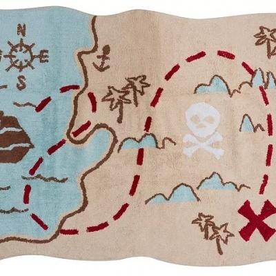 Tapete Mapa Pirata