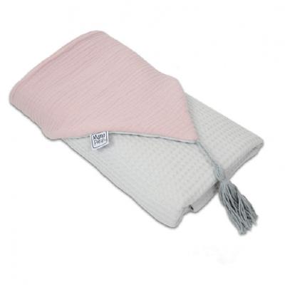 Toalha de Banho com Capuz - Powder Pink