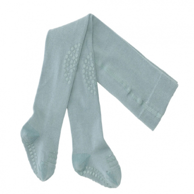 Collants Antiderrapantes Go Baby Go - Dusty Blue