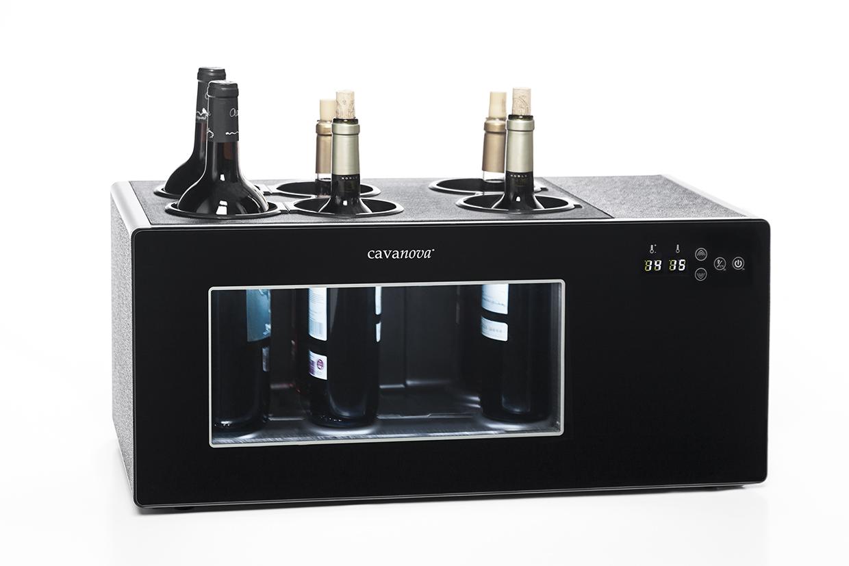Open Wine de 6 garrafas com compressor