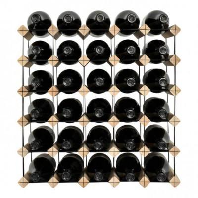 """Garrafeira """"Mensolas"""" para 30 garrafas"""