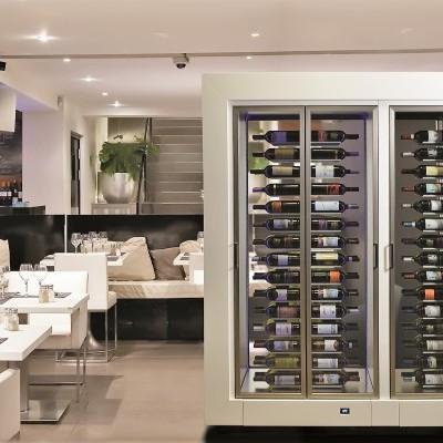 Expositor refrigerador Parete Vino