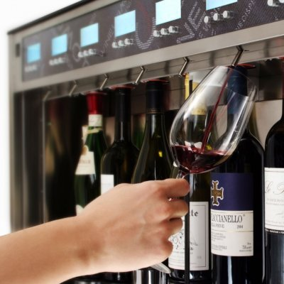 Dispensador de vinho Wineemotion Quattro+4