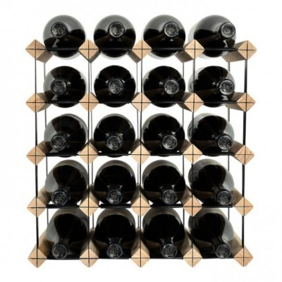 """Garrafeira """"Mensolas"""" para 20 garrafas"""