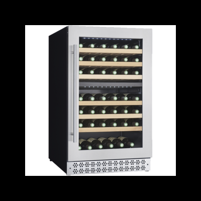 Conservador de vinho integrável de 2 temperaturas para 72 garrafas