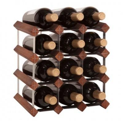 """Garrafeira """"Mensolas"""" para 12 garrafas"""