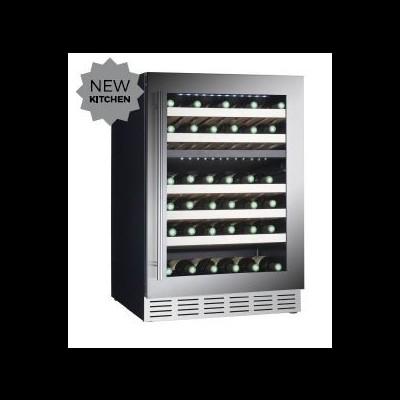 Conservador de vinho integrável de 2 temperaturas para 39 garrafas