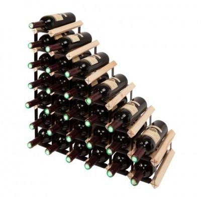 """Mensolas stairs"" para 27 garrafas"