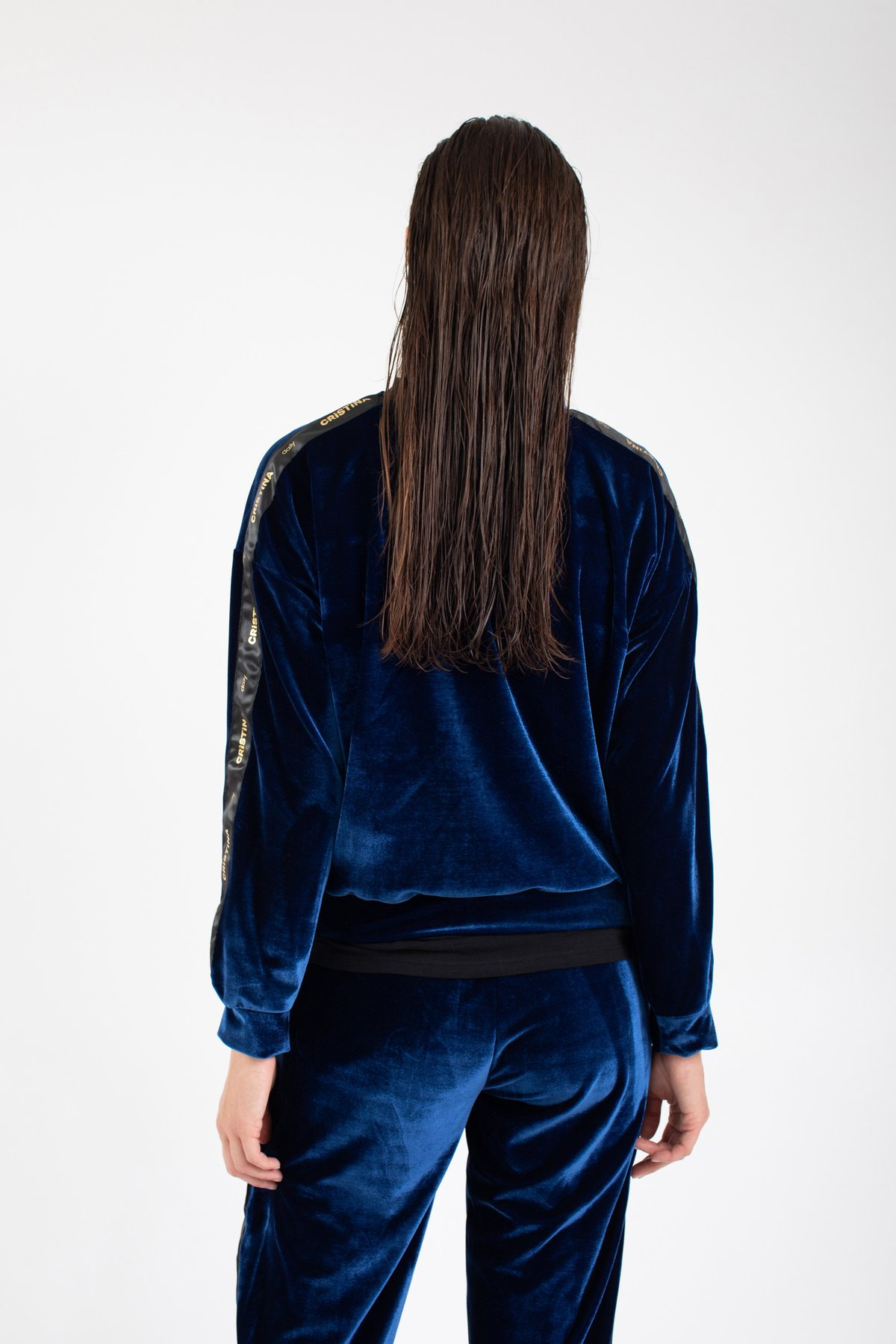 Cristina Sweat Azul
