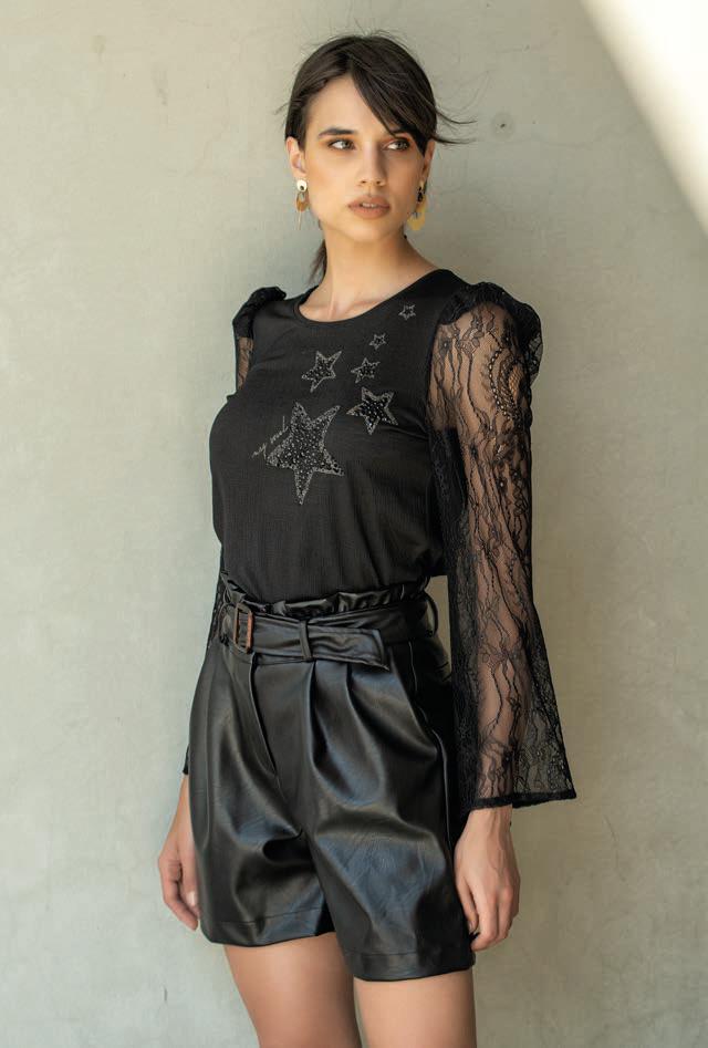 Foursoul Lace & Fantasy Jersey T-Shirt