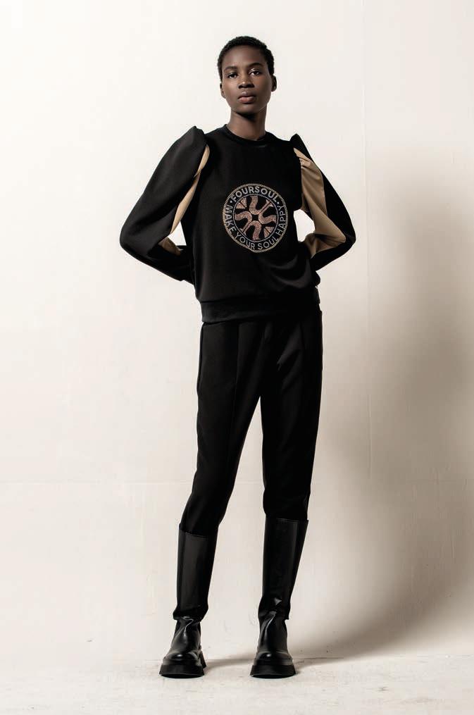 Foursoul FS Strass Sweater
