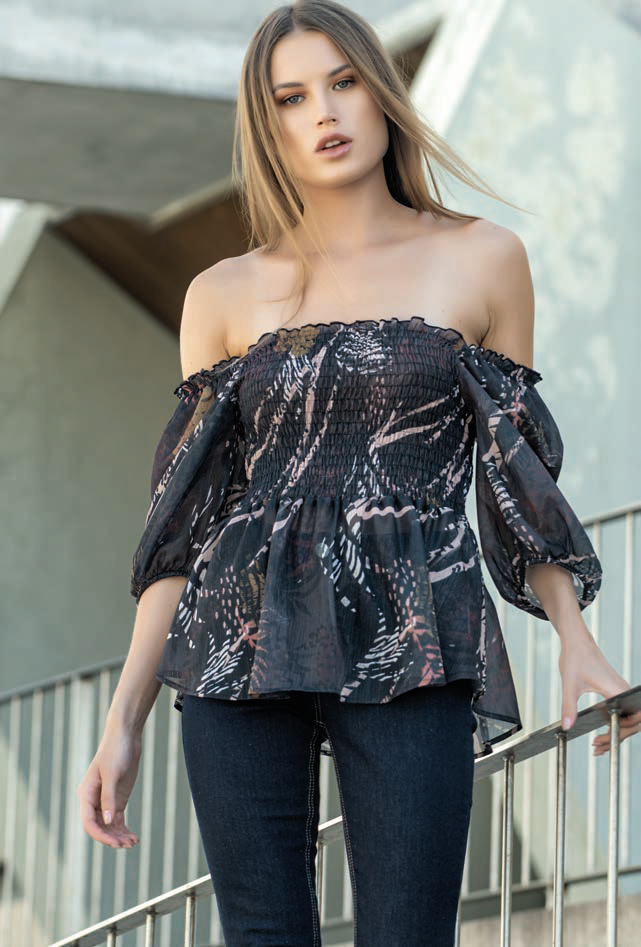 Foursoul Printed Top