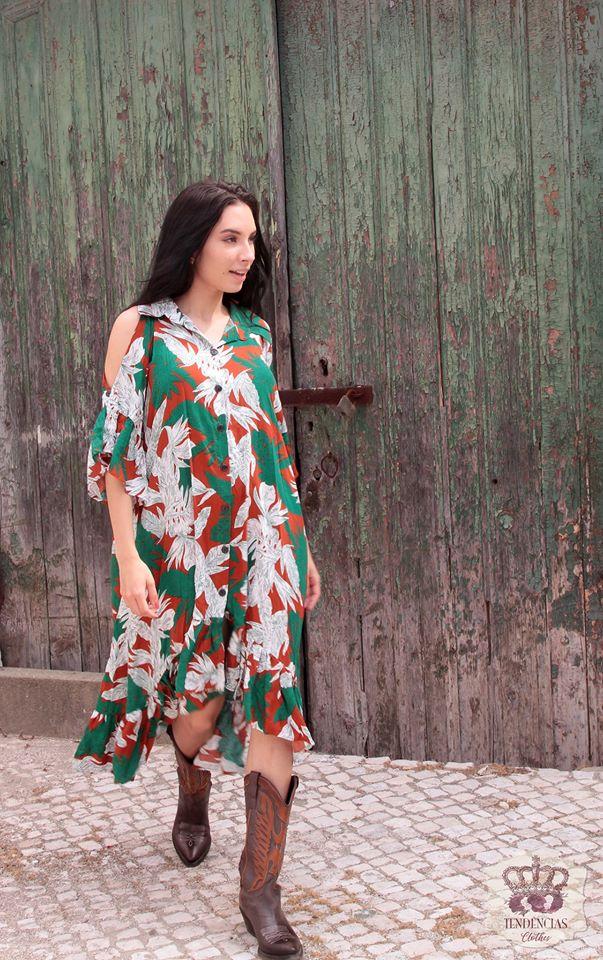 TENDENCIAS CLOTHES VESTIDO