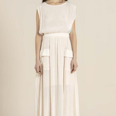 Foursoul Midi Skirt 212305