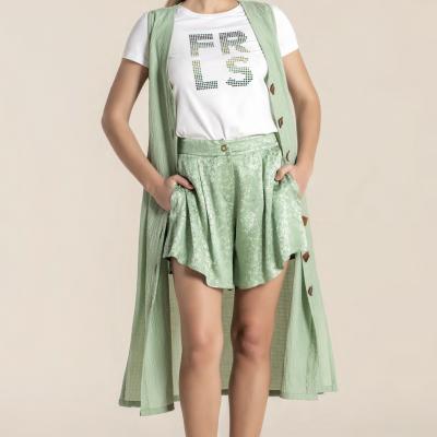 Foursoul Satin Shorts 214301