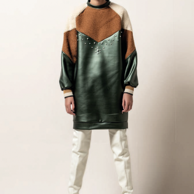 Foursoul Fur Sweater Dress 201419