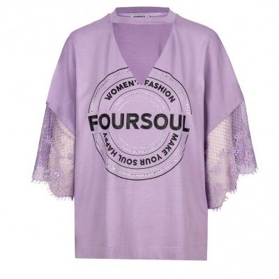 Foursoul Lace T-Shirt 212105