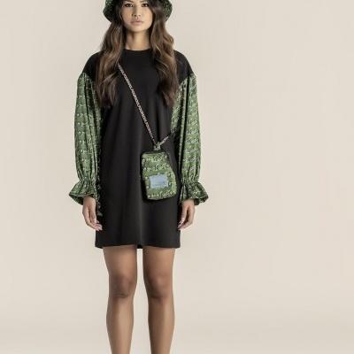 Foursoul Sweater Dress 215113A