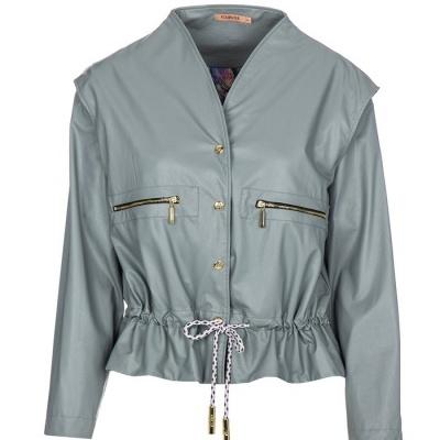 Foursoul Fake Leather Jacket 211203
