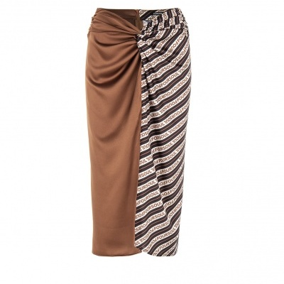 Foursoul Printed Skirt 215302