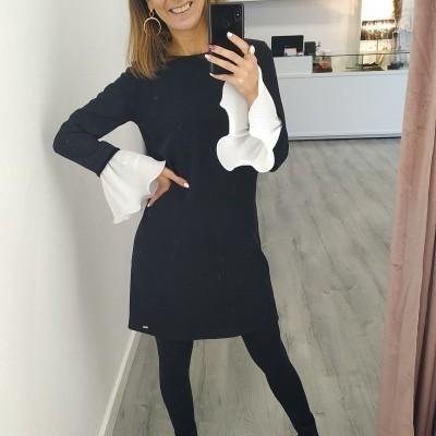 Fracomina Dress Blackcream