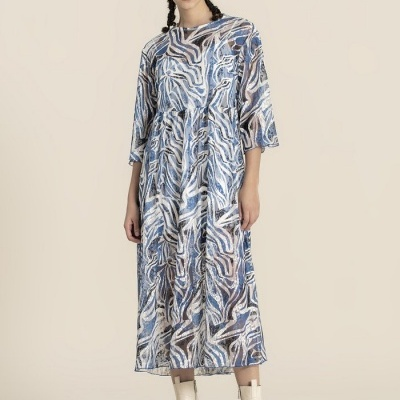 Foursoul Lace Printed Dress 211127A