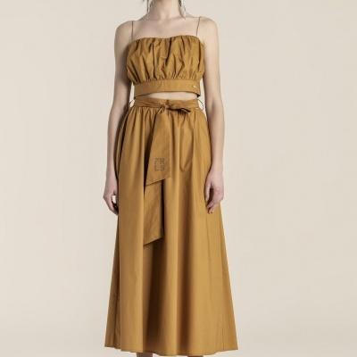 Foursoul Poplin Skirt 214305
