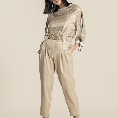 Foursoul Satin Pants 211307