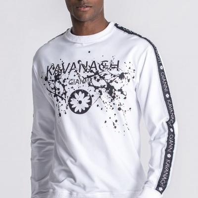 WHITE SPRING BREAKERS SWEAT Gianni Kavanagh
