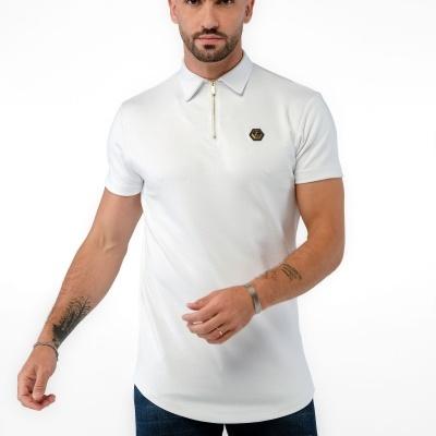Polo-Shirt Hexa WhiteGold