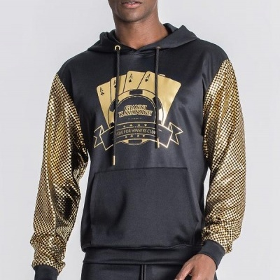 BLACK LUCKY FEVER HOODIE