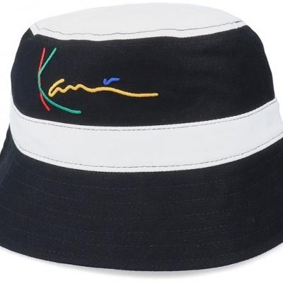 Karl Kani Signature Bucket Hat Black