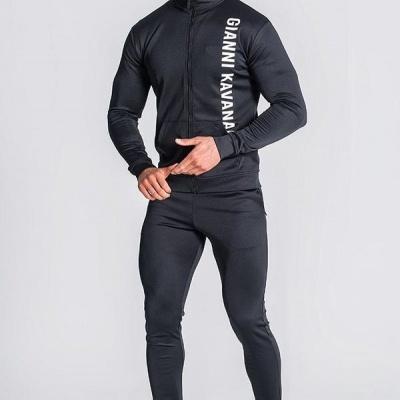 Black Logo Mania Jacket & joggers Gianni Kavavagh