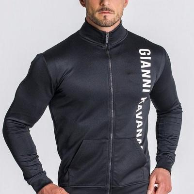 Black Logo Mania Jacket Gianni Kavanagh