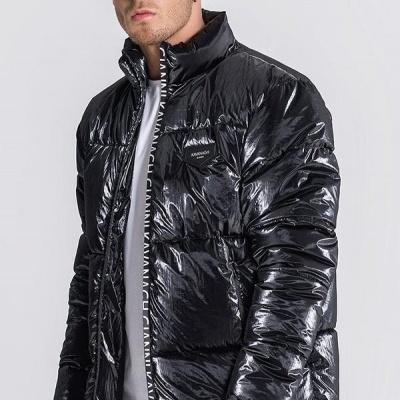 Black Wonderlust Puffer Jacket